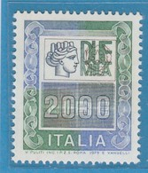 "FR.NU.0386A - REPUBBLICA 1978 - ""ALTI VALORI"" 1 V. Nuovo** Da L.2000 - 6. 1946-.. República"
