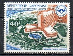 GABON. PA 127 Oblitéré De 1972. Hôtel Intercontinental. - Hotel- & Gaststättengewerbe