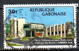 GABON. N°318 Oblitéré De 1973. Parti Démocratique Gabonais. - Gabon (1960-...)