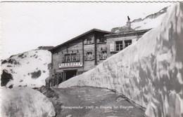 SWITZERLAND-SCHWEIZ-SUISSE-SVIZZERA-RHONEGLETSCHER EINGANG ZUR EISGROTTE-CARTOLINA VERA FOTO-VIAGGIATA IL 12-8-1955 - VS Valais