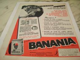 ANCIENNE PUBLICITE  2 FOIS PLUS  BANANIA   1956 - Affiches