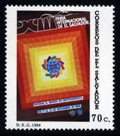 El Salvador 1988 ** MNH International Fair Internationale Messe Foire Internationale - Universal Expositions