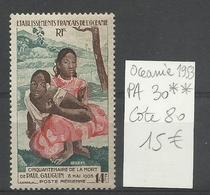 OCEANIE P.A. N° 30 Neuf ** MNH Paul Gauguin   - Cote YT 80€ - Sellos