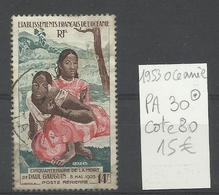 OCEANIE P.A. N° 30 Oblitéré,  Paul Gauguin   - Cote YT 80€ - Timbres