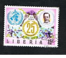 LIBERIA  -   SG 1164.1165   - 1973 O.M.S.    -  USED° - Liberia