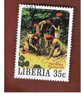 LIBERIA  -   SG 1430   - 1979 SCOUT PAINTINGS BY N. ROCKWELL     -  USED° - Liberia