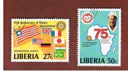 LIBERIA  -   SG 1445.1447   - 1979 ROTARY INT.     -  USED° - Liberia