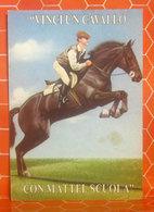 Vinci Un Cavallo Con Mattel - Cavallo Horse CARTOLINA Non Viaggiata - Cavalli