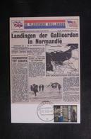 PAYS BAS - Carte Maximum 1985 - Journal Du Débarquement En Normandie - L 39644 - Maximum Cards
