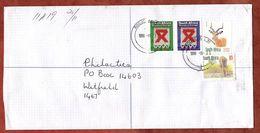 Einschreiben Reco?, Giraffe U.a., Roggebaai Nach Witfield 1999 (77868) - Südafrika (1961-...)