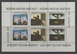 Croatia MNH Michel Nr 240/42 Sheet From 1993 CEPT / Catw 12.00 EUR - Kroatië