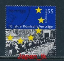 GERMANY Mi. Nr. 2593 50 Jahre Römische Verträge - Europa Mitläufer - 2007 - Used - Europa-CEPT