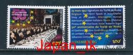 LUXEMBURG Mi. Nr. 1734-1735 50 Jahre Römische Verträge - Europa Mitläufer - 2007 - Used - Europa-CEPT