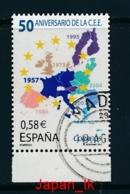 SPANIEN Mi. Nr.  4210 50 Jahre Römische Verträge - Europa Mitläufer - 2007 - Used - Europa-CEPT