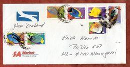 Luftpost, Senegalliest U.a., Middelburg Nach Whangarei 2000? (77869) - Südafrika (1961-...)