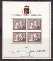 Liechtenstein MNH Michel Nr 614 Sheet From 1974 / Catw 70.00 EUR - Ongebruikt