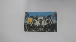 Cuba-catedral De La Habana-($10.00)-tirage-100..000-used Card+1card Prepiad Free - Cuba