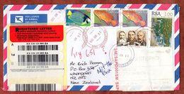 Einschreiben Reco, Sekoto U.a., Villersdorp Nach Whangarei 2009 (77870) - Südafrika (1961-...)