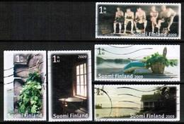 2009 Finland Sauna, Complete Set Used. - Finland