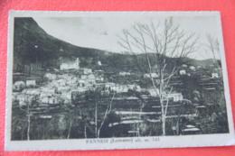 Genova Pannesi Di Lumarzo 1937 + Timbro Targhetta - Altre Città