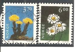 Noruega-Norway  Nº Yvert  1188, 1190-91 (usado) (o) - Noruega