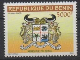 Bénin 2008 Armoirie Coat Of Arms Wappen 5000 F MNH** - Bénin – Dahomey (1960-...)