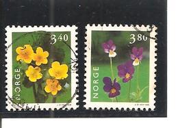 Noruega-Norway  Nº Yvert  1226-27, 1229 (usado) (o) - Noruega