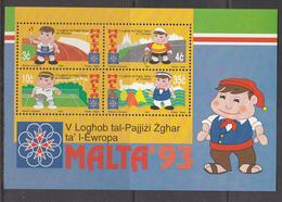Malta MNH Michel Nr Block 12 From 1993 / Catw 5.00 EUR - Malta