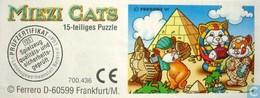 BPZ Miezi Cats / Puzzle - Ü-Ei