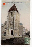 02636-LE-80-SAINT-VALERY-SUR-SOMME-L' Eglise-----------animée - Saint Valery Sur Somme