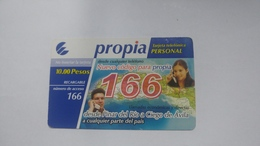 Cuba-propia-(10.00pesos)-used Card+1card Prepiad Free - Kuba