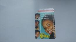 Cuba-el Telefono Urmet-(7.00pesos)-used Card+1card Prepiad Free - Cuba