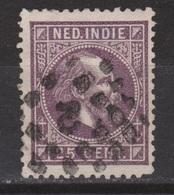 Nederlands Indie Nr 13 TOP CANCEL SAMARANG 2 ; Koning King Roi Rey Willem III 1870 Netherlands Indies PER PIECE - Nederlands-Indië