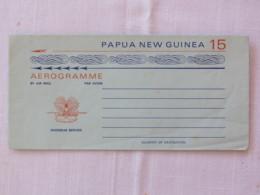 Papua New Guinea 1975 Unused Aerogramme - Bird - Papua-Neuguinea