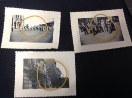 Auvelais 3photos Originale Fête .. - Cartes Postales