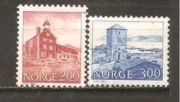 Noruega-Norway  Nº Yvert  812, 815 (usado) (o) - Usados