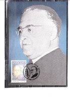 2555 Europa - Grande Découverte - Monseigneur Georges Lemaître - Père De La Théorie Du Big-Bang - Tarjetas – Máxima