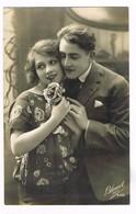 CPA N&b Couple Amoureux - 1925 (message D'amour ) - Couples