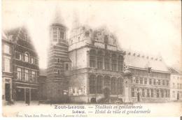 145)  ZOUTLEEUW - Stadhuis En Gendarmerie - Uitg. Em. Van Den Bosch Zout-Leeuw - Zoutleeuw