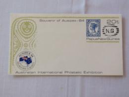 Papua New Guinea 1984 Unused Stationery Cover - Stamp Queensland - Ausipex - Papua-Neuguinea