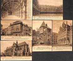"""Liège - Lot 6 Cartes """"La Belgique Historique"""" - Liege"""