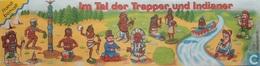 BPZ Im Tal Der Trapper Und Indianer / Totem-Pfahl - Ü-Ei