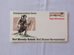 Papua New Guinea 1985 Unused Stationery Cover - Mail Runner - Papua-Neuguinea