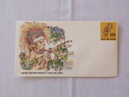 Papua New Guinea 1986 Unused Stationery Cover - Coffee - Eastern Highlands Province - Papua-Neuguinea