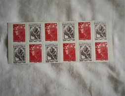 Carnets Marianne 2ème Lot 1519 MIXTE  150 Ans Du Timbre Fiscal Neuf TBE Non Plié - Libretas