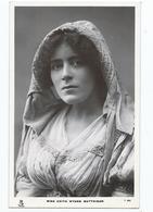 Actress  Postcard Rp Miss Edith Wynne Mattison Tuck Unused - Theatre
