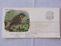 Papua New Guinea 1989 Official Stationery Cover To England - Bird - Papua-Neuguinea