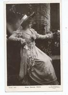 Actress  Postcard Rp Rotary Denise Orme Davidson Bros. Posted 1906 - Theatre
