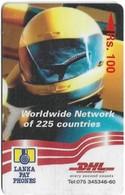 Sri Lanka - Lanka Pay Phones (GPT) - DHL - Worldwide Network - 37SRLB - 100Rs, Used - Sri Lanka (Ceylon)