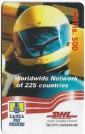Sri Lanka - Lanka Pay Phones (GPT) - DHL - Worldwide Network - 37SRLC - 500Rs, Used - Sri Lanka (Ceylon)